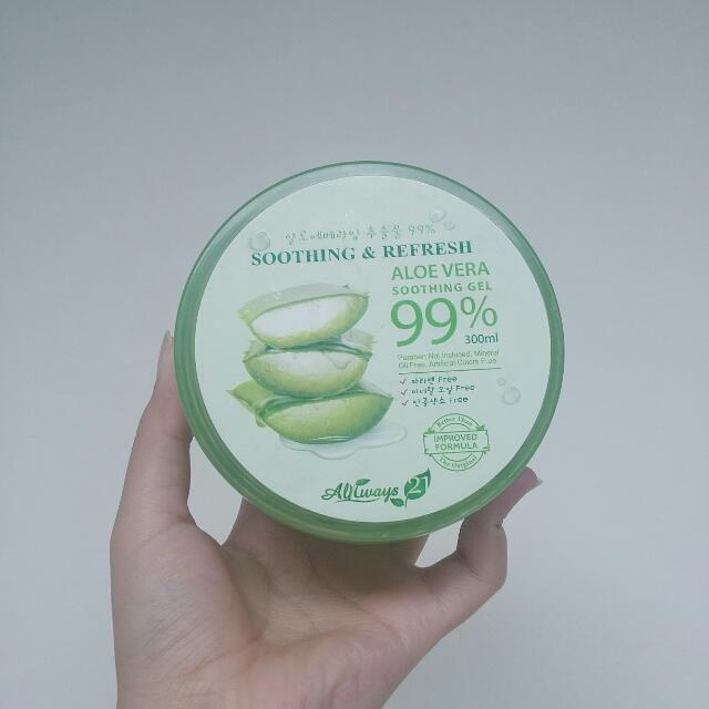 Always 21 Aloe Vera Soothing Gel 99%