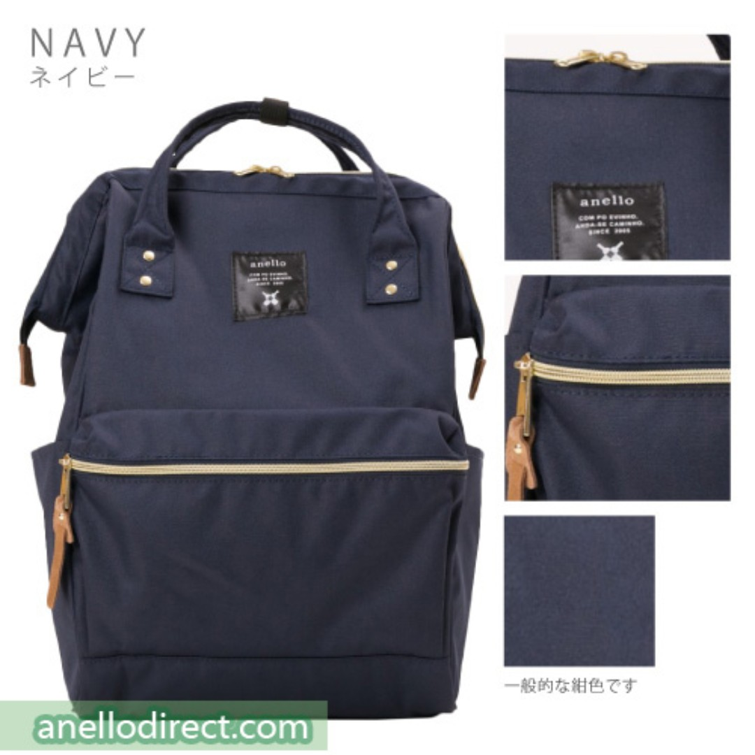 d1d7984a83 ANELLO CANVAS BACKPACK (NAVY BLUE)