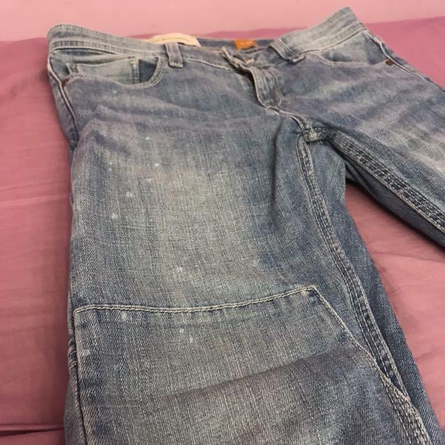 Anthropologie - boyfriend jeans