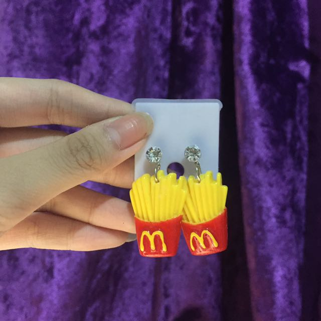 Anting McD Fries