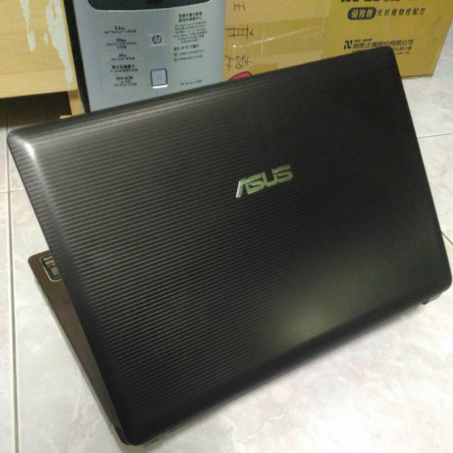 ASUS A43S Win10 14inch ( Brown )
