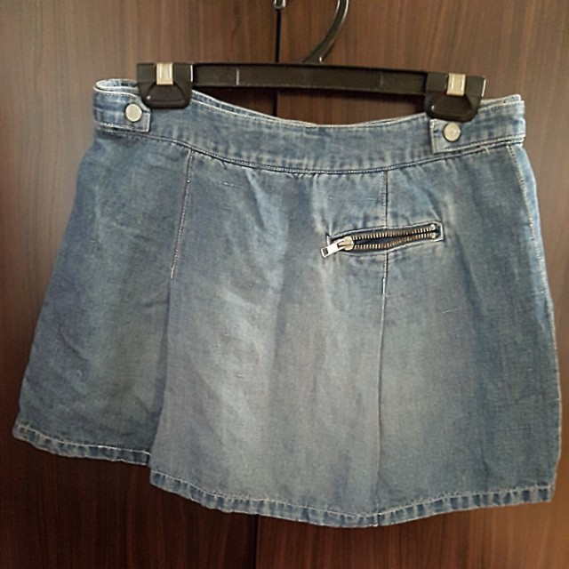 a969878c1 Authentic Armani Exchange Denim Skirt, Women's Fashion, Clothes, Dresses &  Skirts on Carousell