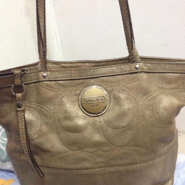 Authentic/ Original Coach Tote Bag/ Handbag