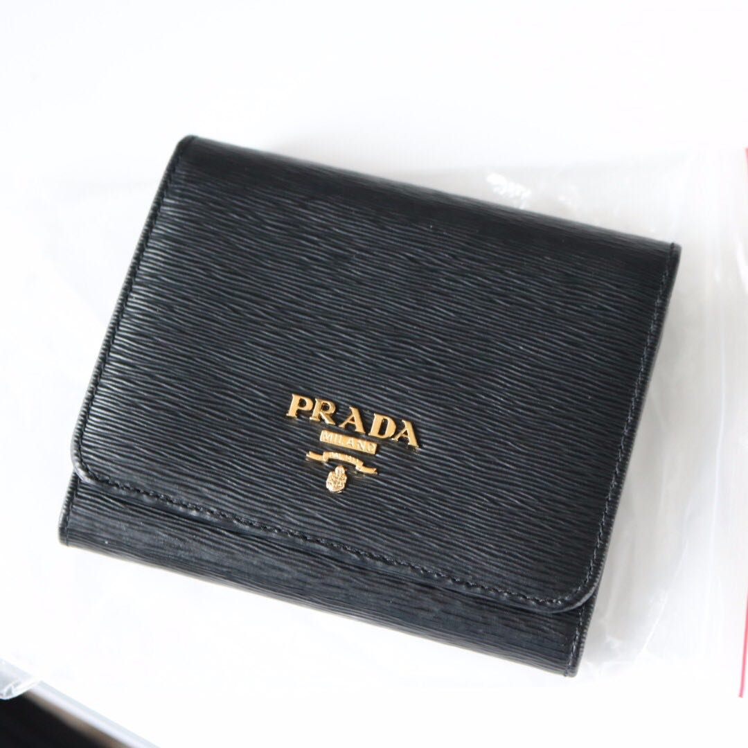 Authentic Prada Trifold wallet