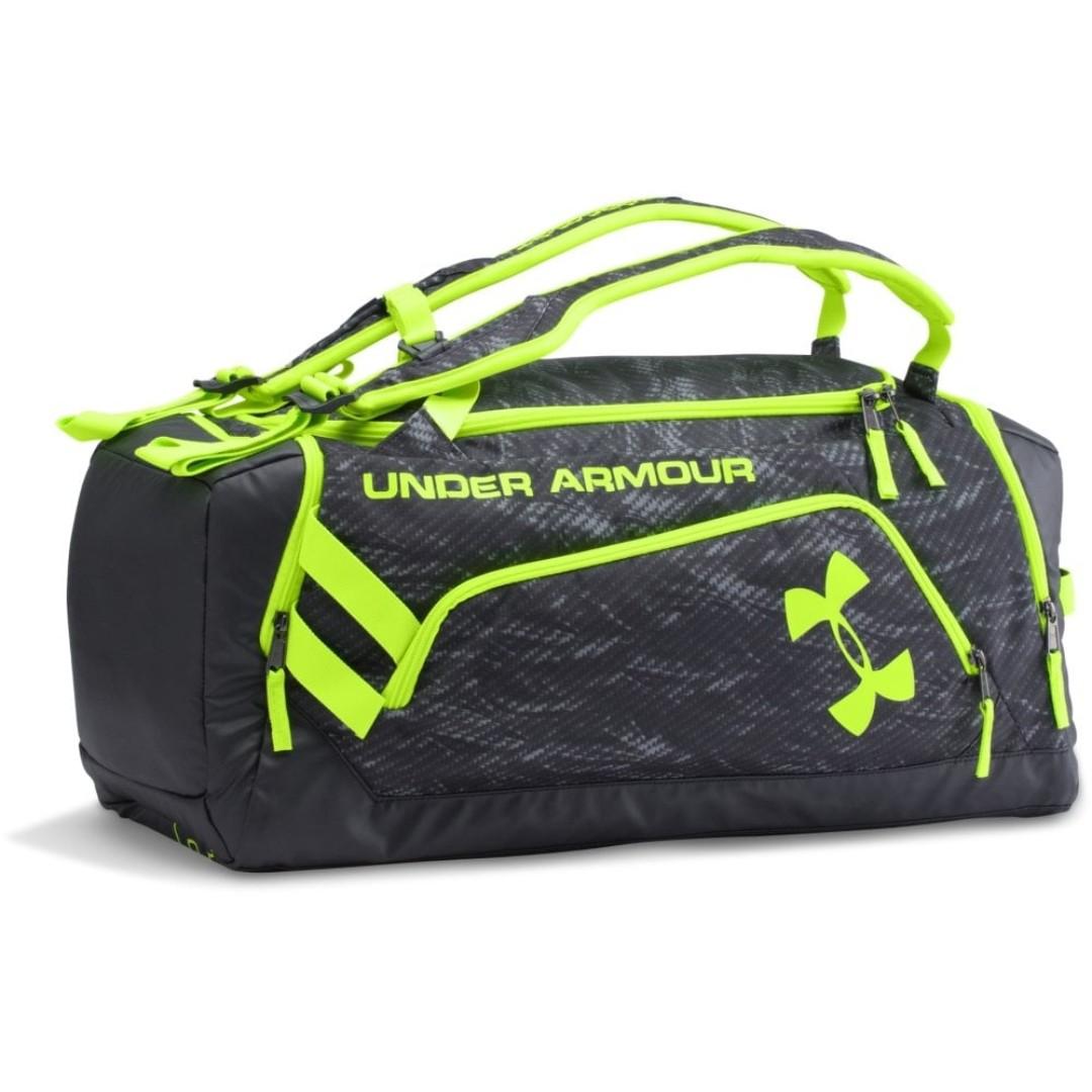 ccd2409626 AUTHENTIC) Under Armour UA Storm Duffel Bag