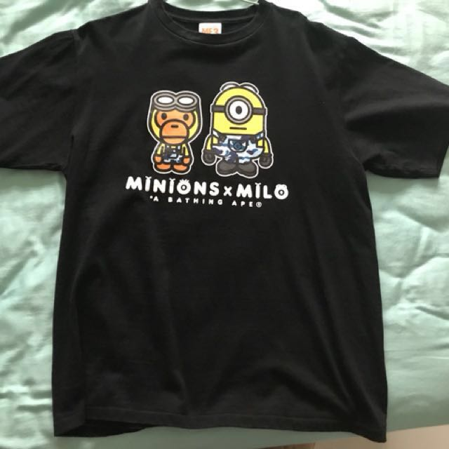 d036e4a3 Bape Minions x Milo, Men's Fashion, Clothes on Carousell