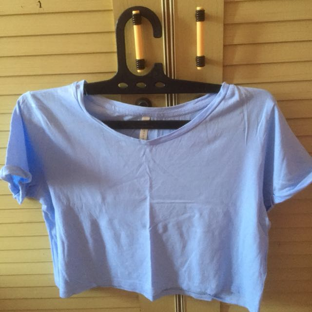 basic stradivarius soft blue