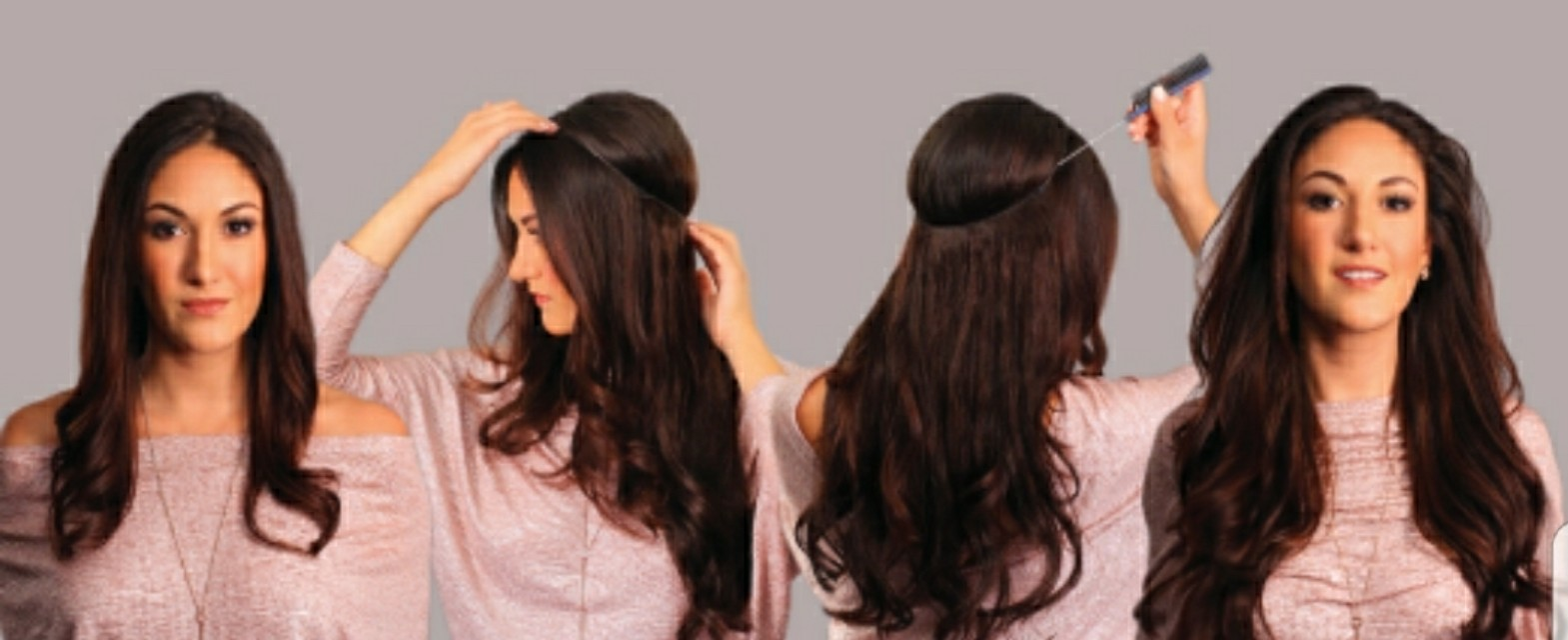 Black Halo hair extensions