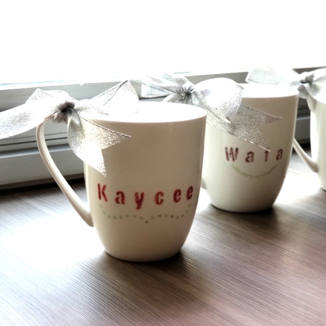 Bn Customisable Personalised Handwritten Cups Name Only For