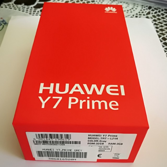 $230 BNIB Huawei Y7 Prime 32GB Grey Colour