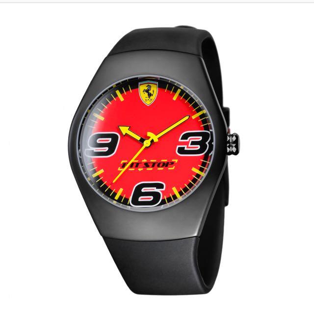 BNWOT Ferrari Pit Stop Watch