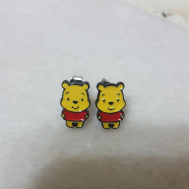 db1819801 Brand New Winnie the Pooh earrings, Women's Fashion, Jewellery on Carousell