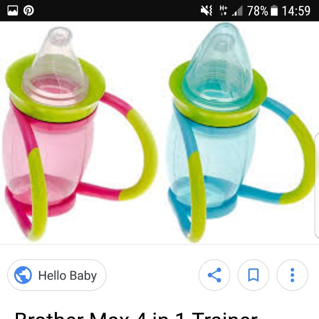 Brother Max 4 in 1 Trainer Cup, Babies & Kids, Nursing & Feeding ...