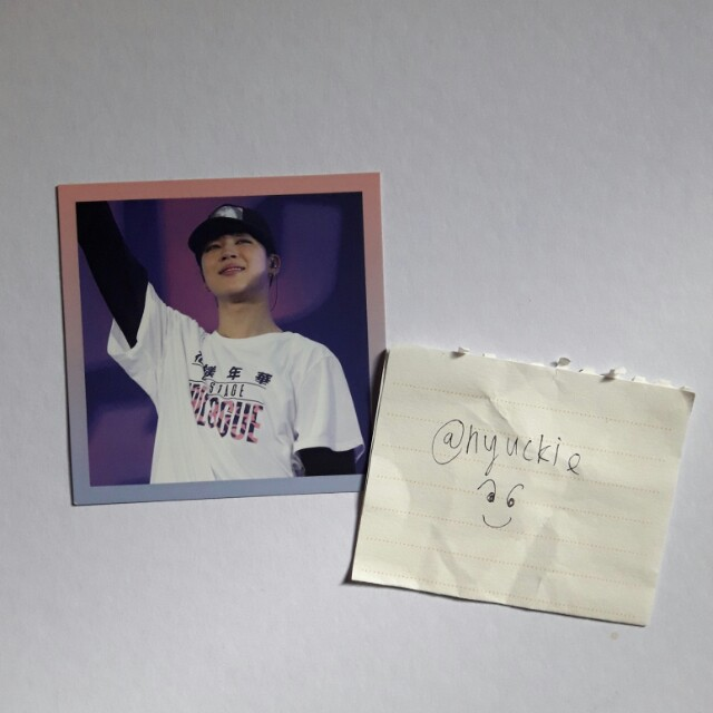 BTS Jimin Epilogue Photocard