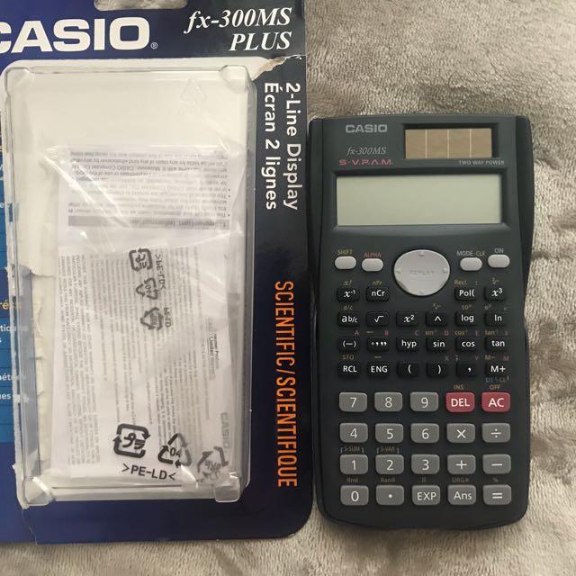 Casio Fx 300 calculator