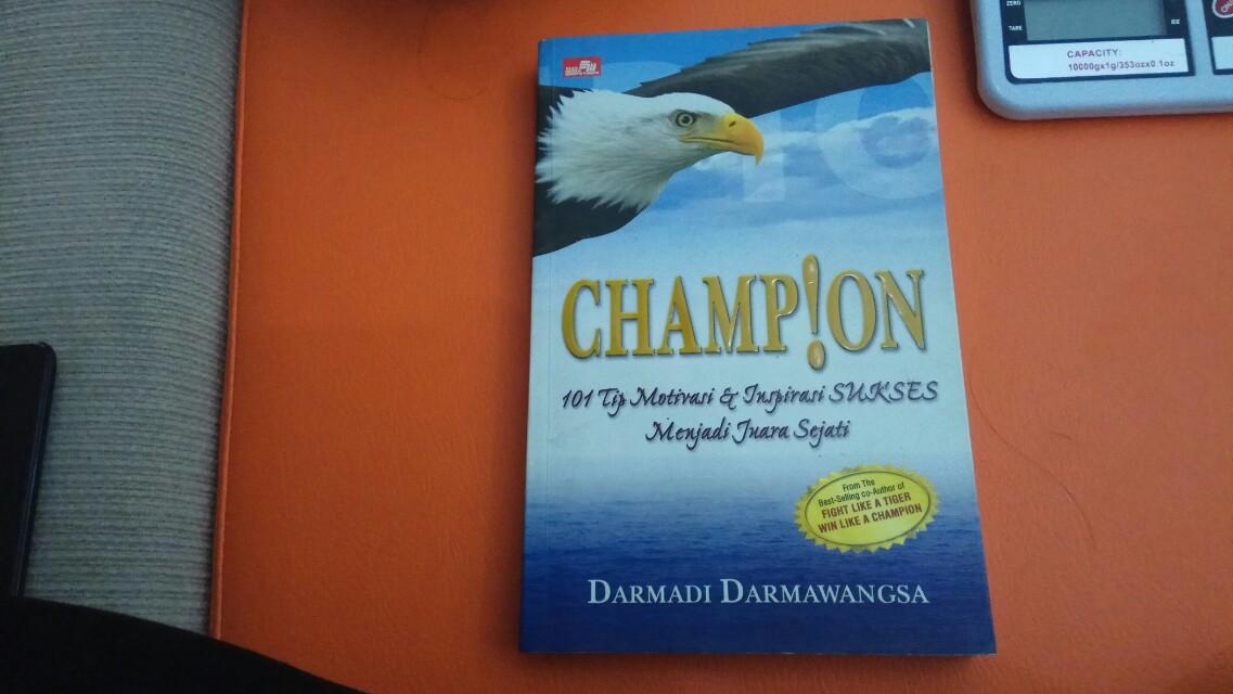Champion by Darmadi Darmawangsa