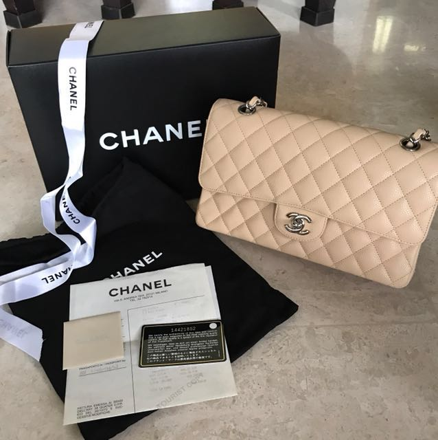 d3305f1cb4bb Chanel Medium Classic Flap, Luxury, Bags & Wallets on Carousell