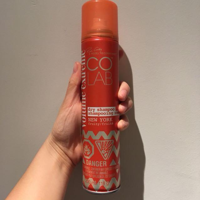COLAB dry shampoo New York fruity