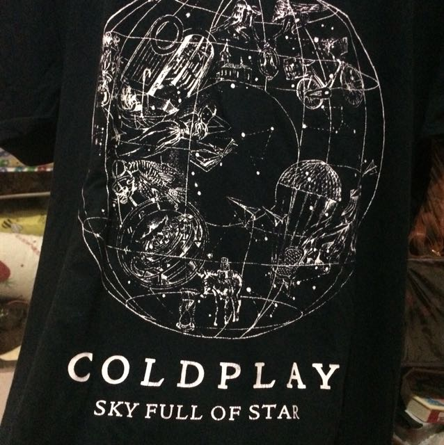 Coldplay - SKY FULL OF STAR T-shirt