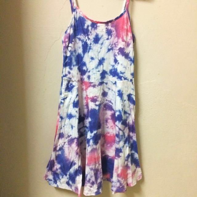 Cotton On Tie Dye Skater Dress