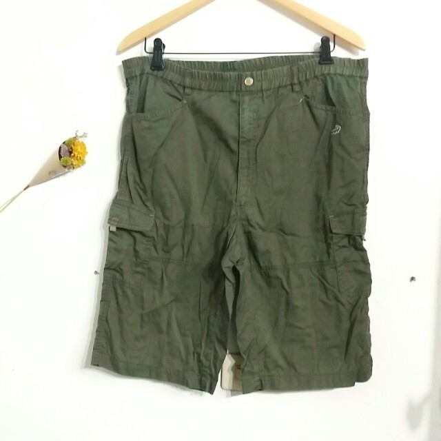 Crocodile 男童墨綠五分短褲 #好物免費送