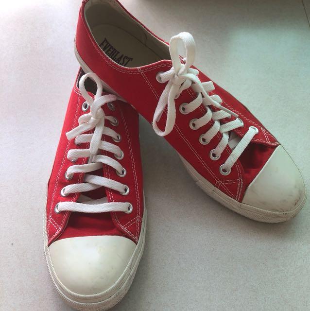 Everlast Red On SneakersMen's FashionFootwearSneakers Carousell 1uJlKFcT3