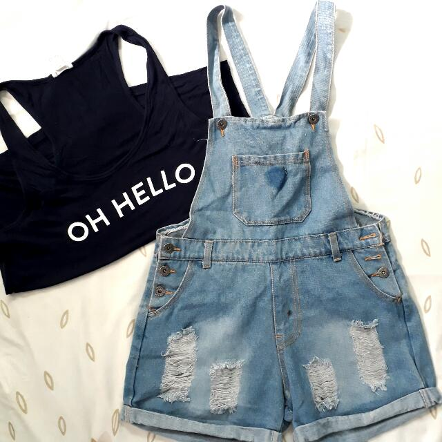 F21 Sleeveless x Jumper