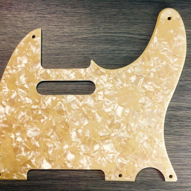 Fender Telecaster Custom Order Warmoth Aged Pearl Pickguard