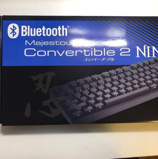 Filco convertable 2NINJ 104鍵 茶軸 側刻中文