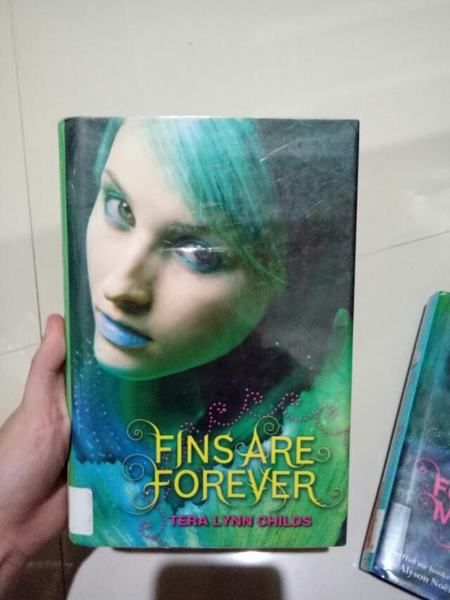 Fins are forever terra lynn childs