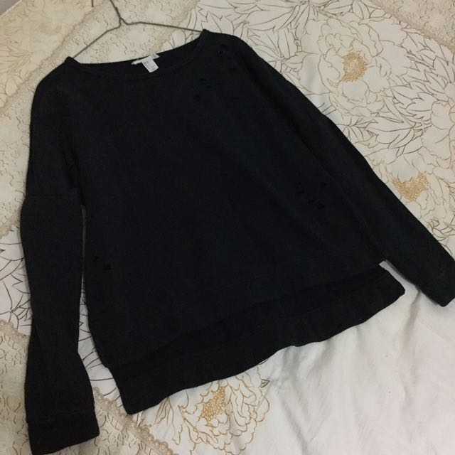 Forever 21 sweater with holes