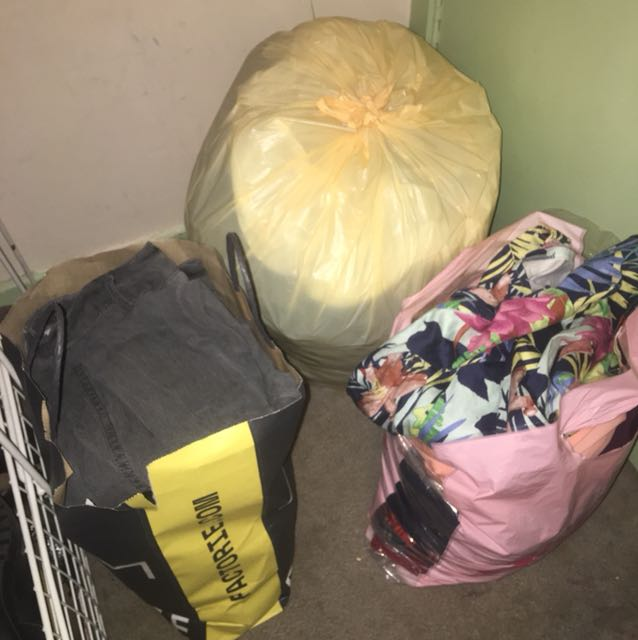 Free Bags of Clothing