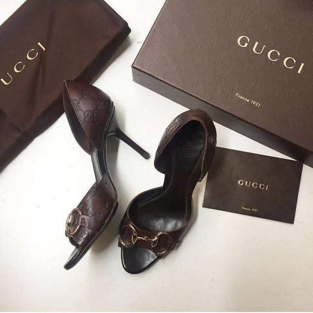 Free Delivery Authentic Gucci High Heels 8cm size 5 1/2 (around 36)