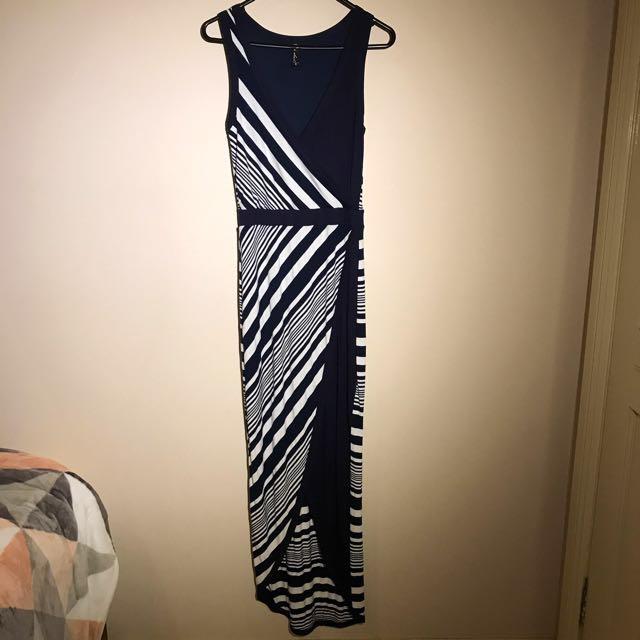 Fresh Soul Maxi Stripe Dress