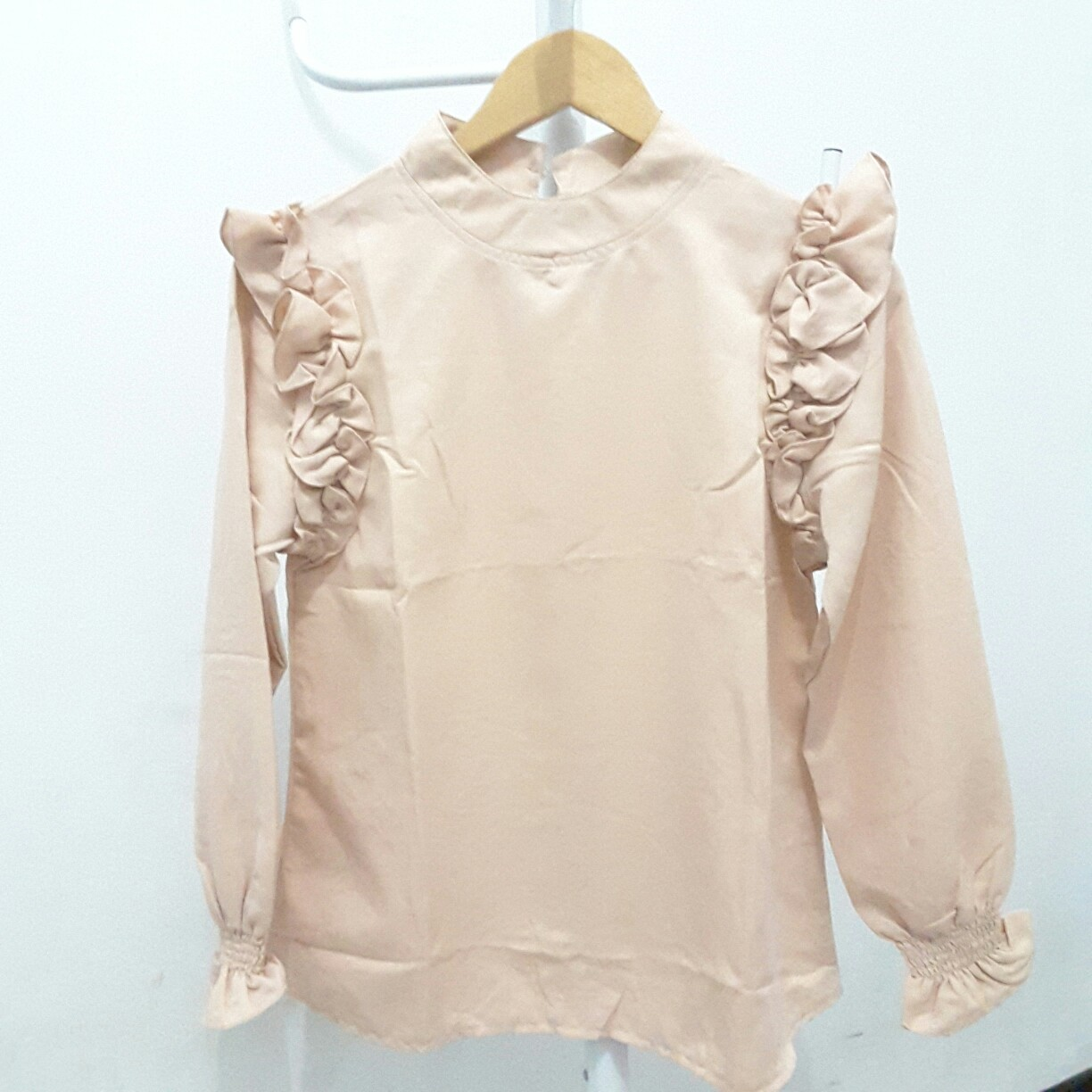 Frill Mocca Blouse