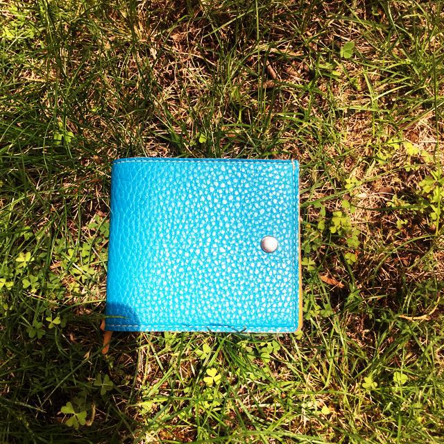 Funky Coloured Leather Wallet