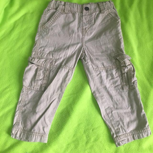 F&X Khaki Cargo Pants