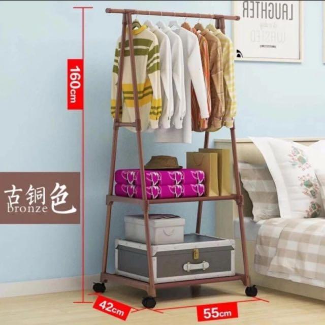 Garment rack with FREE Shoe rack