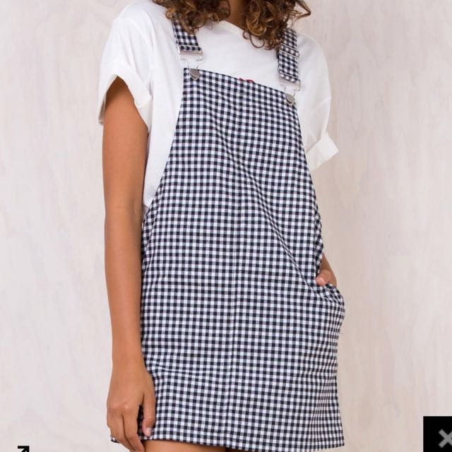 Gingham Pinafore | Size 8