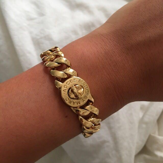 Gold Marc By Marc Jacobs Bracelet