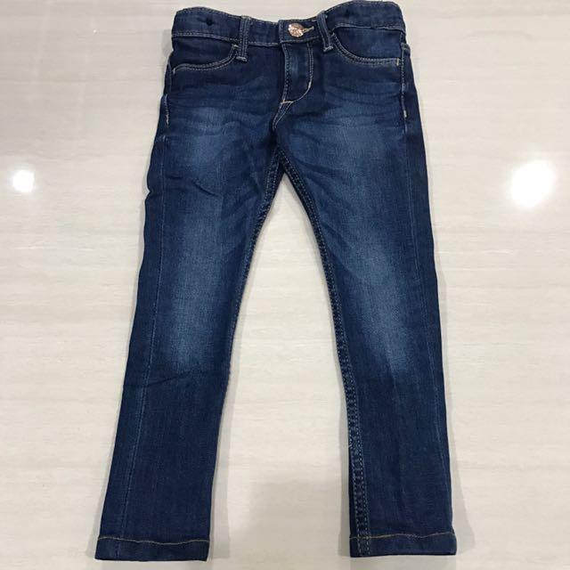 H&M kids blue jeans 3-4y