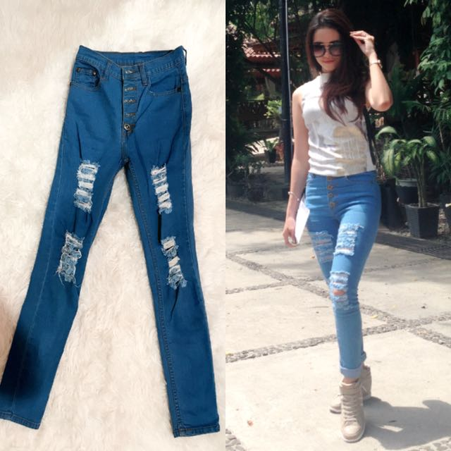 HW Ripped Jeans