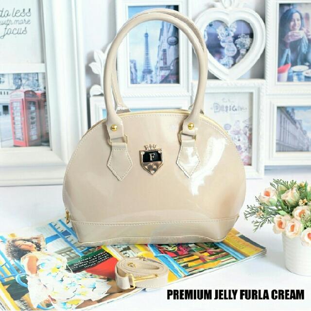 Jelly Tenteng Premium Furla Cream