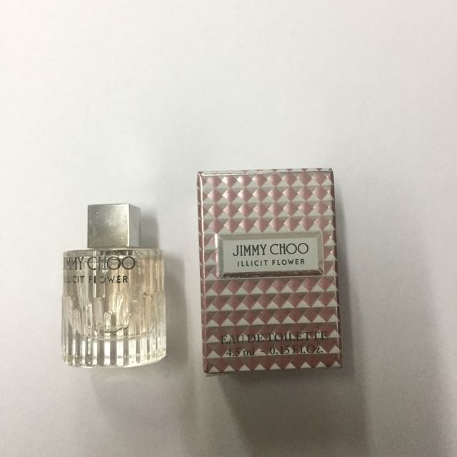 Jimmy choo illicit flower mini perfume