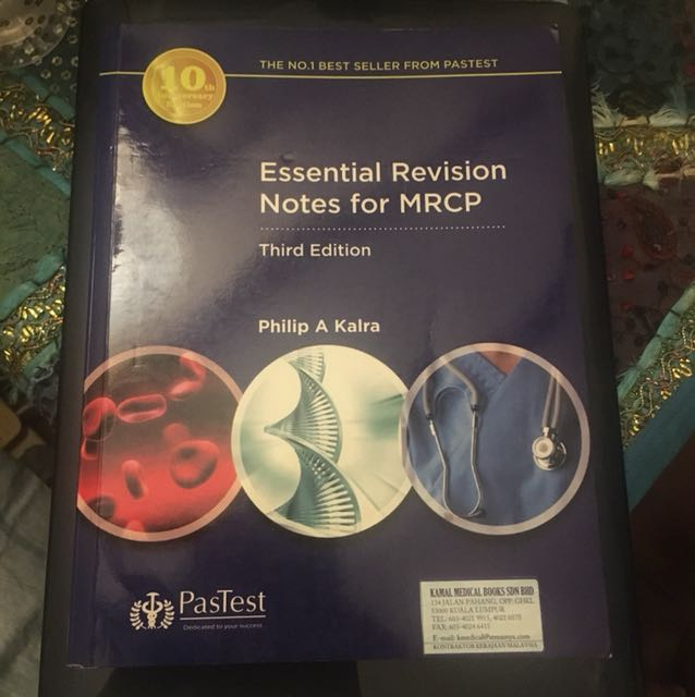 Kalra- essential revision notes Mrcp