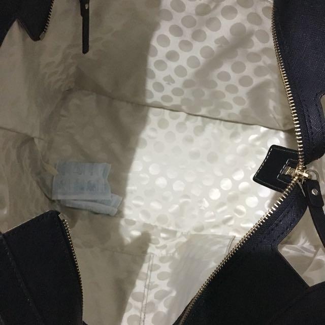 KATE SPADE Cedar Street Harmony Medium Black Tote Bag