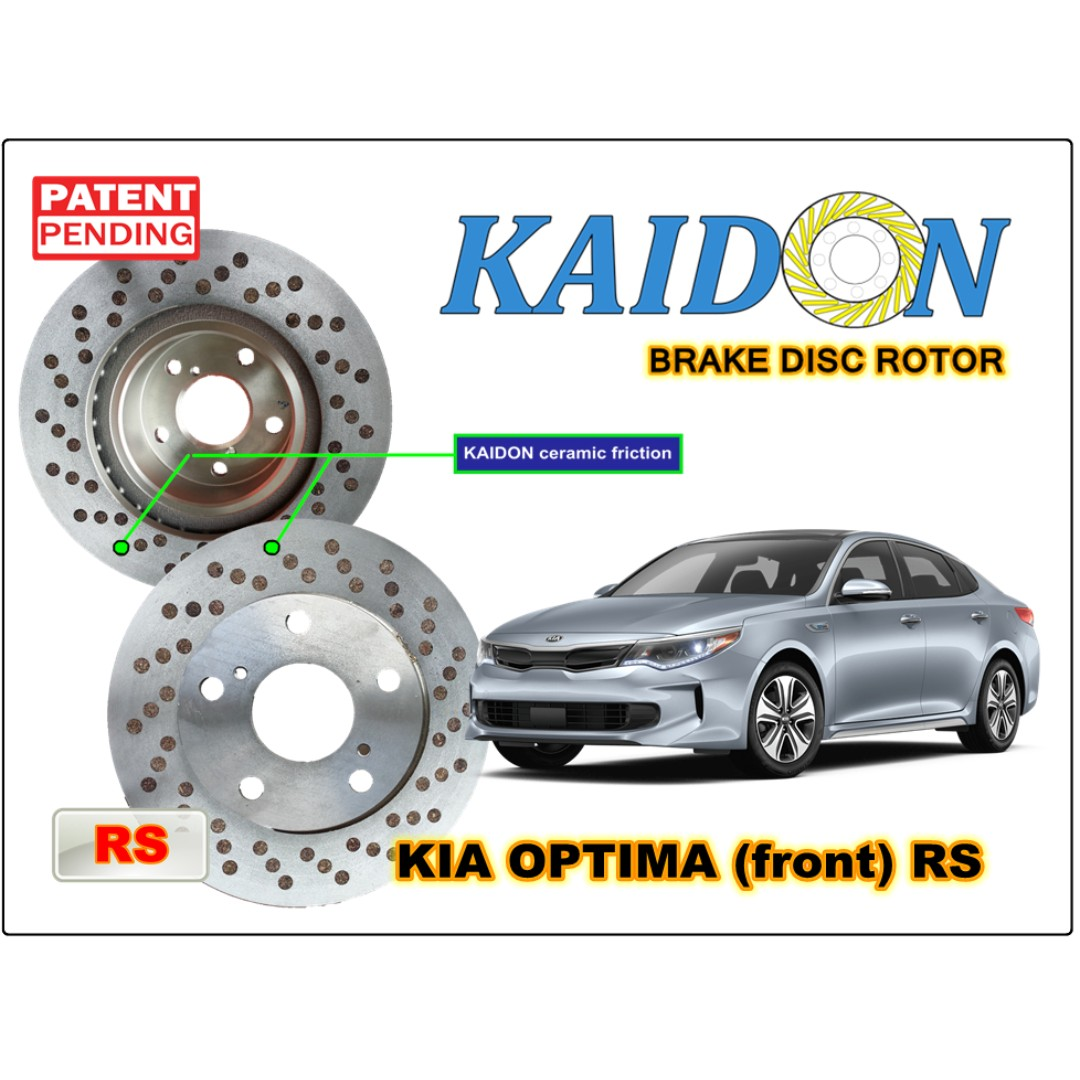 Kia Optima Disc Rotor Kaidon Front Type Bs Rs Spec Auto Balance Shaft Accessories On Carousell