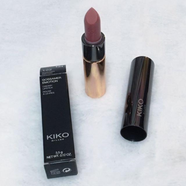 Kiko GOSSAMER EMOTION CREAMY LIPSTICK 奶油微光按壓式唇膏