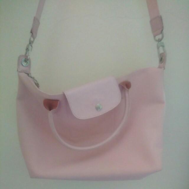 Longchamp neo baby pink size m