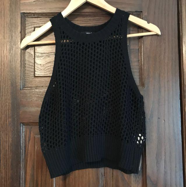 M Easy J knit sleeveless top
